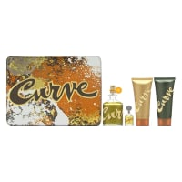 Buy Curve by Liz Claiborne for Men 4 Piece Set Includes: 4.2 oz Cologne Spray + 3.4 oz Skin Soother + 0.5 oz Cologne Travel Spray + 3.4 oz Hair & Body Wash online at best price, reviews