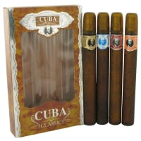 Buy CUBA RED by Fragluxe -- Gift Set -- Cuba Variety Set includes All Four Sprays, Cuba Red, Cuba Blue, Cuba Gold and Cuba Orange for Men online at best price, reviews