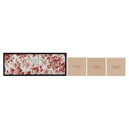Gucci Bloom Fragrance Collection Set 3 x 3.5 oz Perfumed Soaps