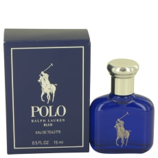 Polo Blue by Ralph Lauren .5 oz Eau De Toilette for Men