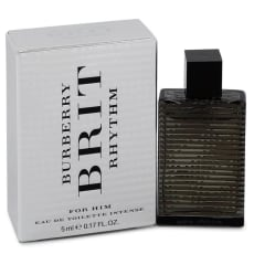 Burberry Brit Rhythm Intense by Burberry Mini EDT .17 oz for Men