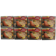 Scented Candle 8 Pack Of 3 Oz Jars - Pumpkin Pie Sugar Cookies by Betty Crocker
