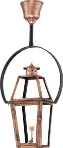Acadian Half Yoke Copper Lantern by Primo