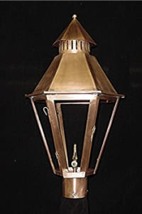 South Battery Post Top Outdoor Lantern