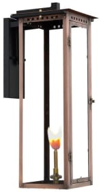 Alantowne Post Mount Copper Lantern by Primo