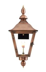 Oak Alley Wall Mount Gas Copper Lantern by Primo