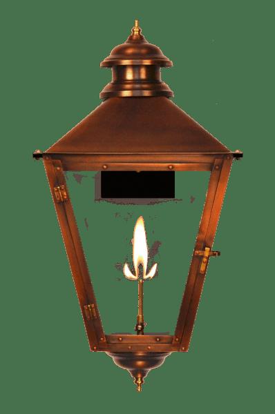 Adam Street Gas Light Lantern by The CopperSmith