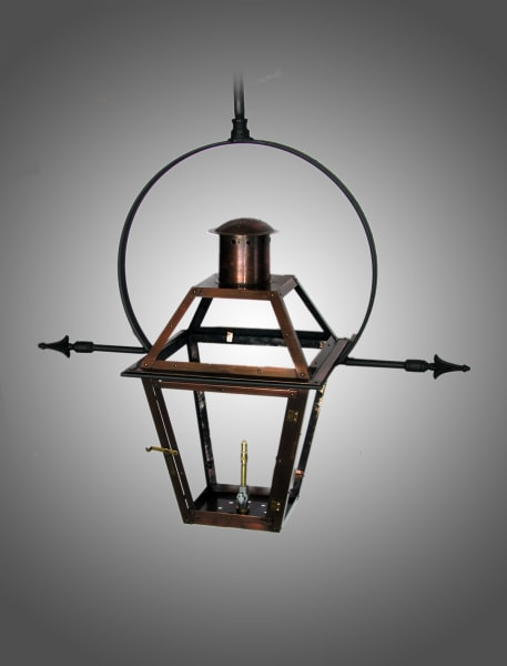 Bourbon Street yoke lantern with ladder rest