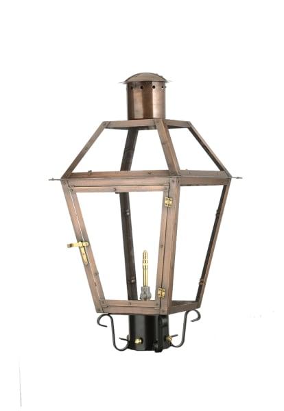 Bourbon Street column mount lantern