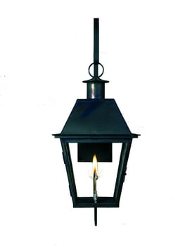 Acadian Lantern by Copper Sculptures