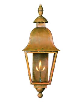 Provence Lantern by Copper Sculptures