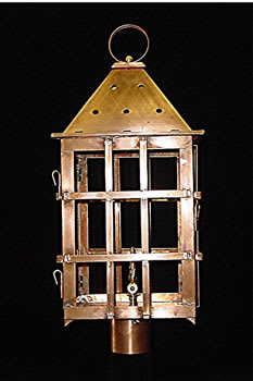 St. Michael's Alley Post Top Outdoor Lantern