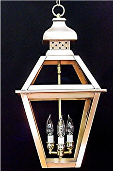 Tradd Street Chain Hung Outdoor Lantern