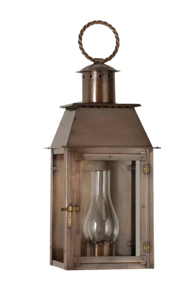 Milan flush mount lantern