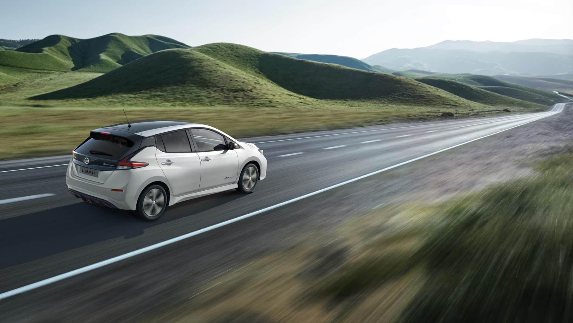Forhåndssalg Nye Nissan Leaf 3.ZERO e+ Limited Edition