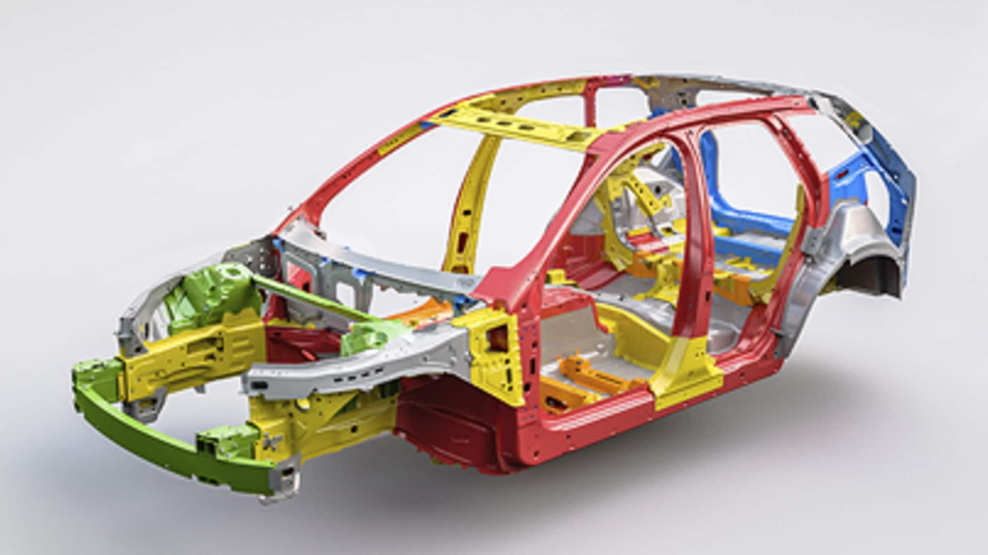 Forsterket kupé illustrasjon Volvo XC60