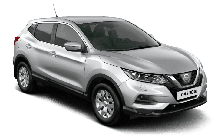Nissan Qashqai i fargen sølv