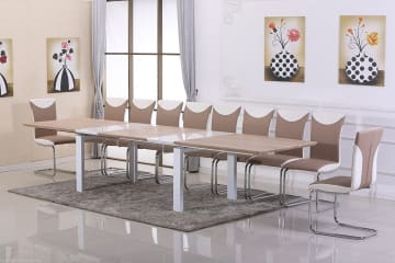 Executive Large Extending Conference/Dining Table