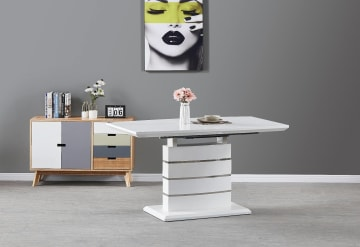 Renato 6 Extending Dining Table