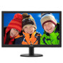 "Monitor 23.6"" Widescreen Led 60 Hz 243 V5 Qhaba   Philips"
