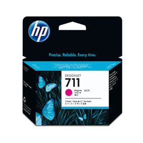 Cartucho Cz135 A Magenta Pack 711   Hp