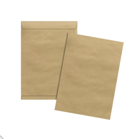 Envelope Kraft Natural Skn 018 125 Mmx176 Mm 80 G Cx C/250   Scrity