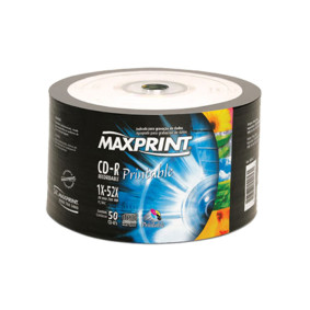 Cd R Printable 700 Mb C/50   Maxprint