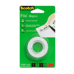 Fita Mágica 810 Scotch® 12mm X 20m   3 M