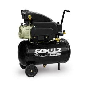 Compressor De Ar Pratic Air Csi 8,5/25l 2cv 60hz 127v C/Rodas   Schulz