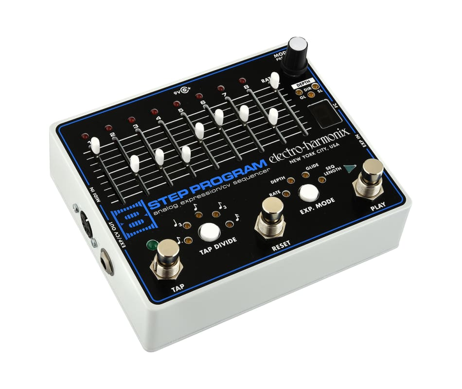 electro harmonix 8 step program analog expression  cv