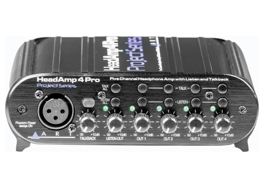 De S About Art Headamp 4 Pro Four Channel Headphone Amp Headamp4