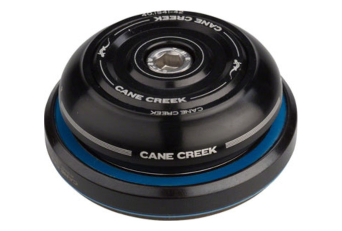 Cane Creek Forty IS41//28.6 IS52//40 Tapered Short Cover Bike Headset Sealed Black