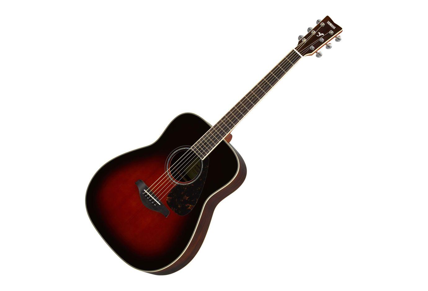 Yamaha fg830tbs spruce top folk acoustic guitar for Yamaha fg830 specs