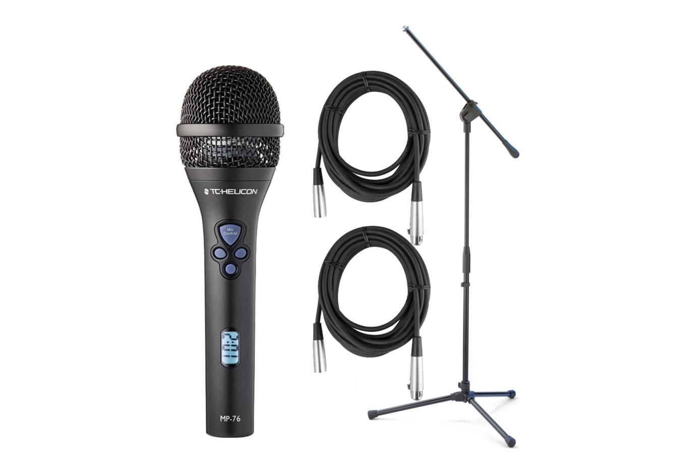 tc helicon mp 76 microphone bundle. Black Bedroom Furniture Sets. Home Design Ideas