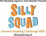 Silly squad reading challenge banner