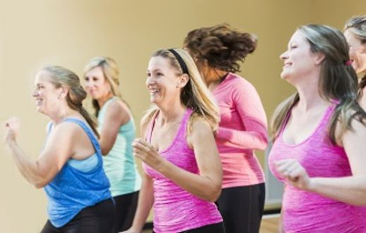 Zumba Dance Aerobics in Bath Sports and Leisure Centre