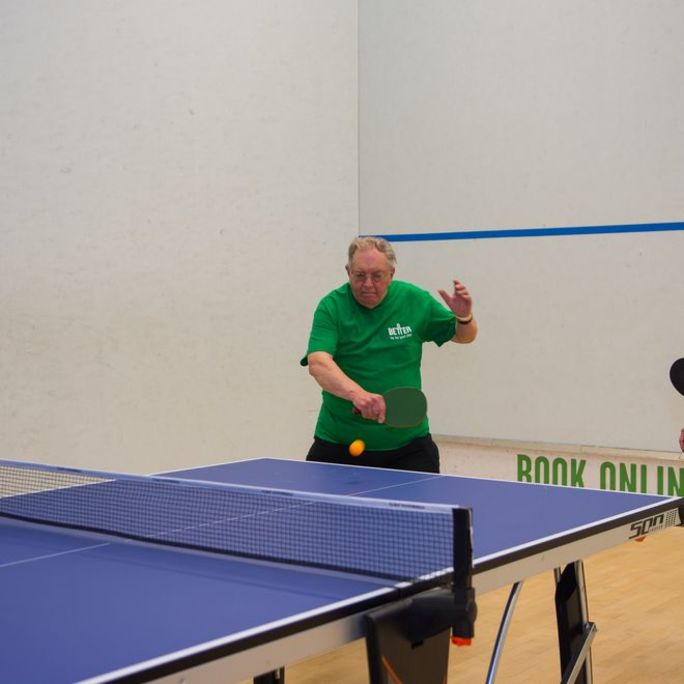 Generation Gains Table Tennis