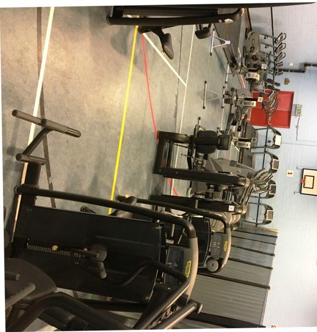 Temporary Gym   Helston Leisure Centre   Refurbishment   Better   Cornwall