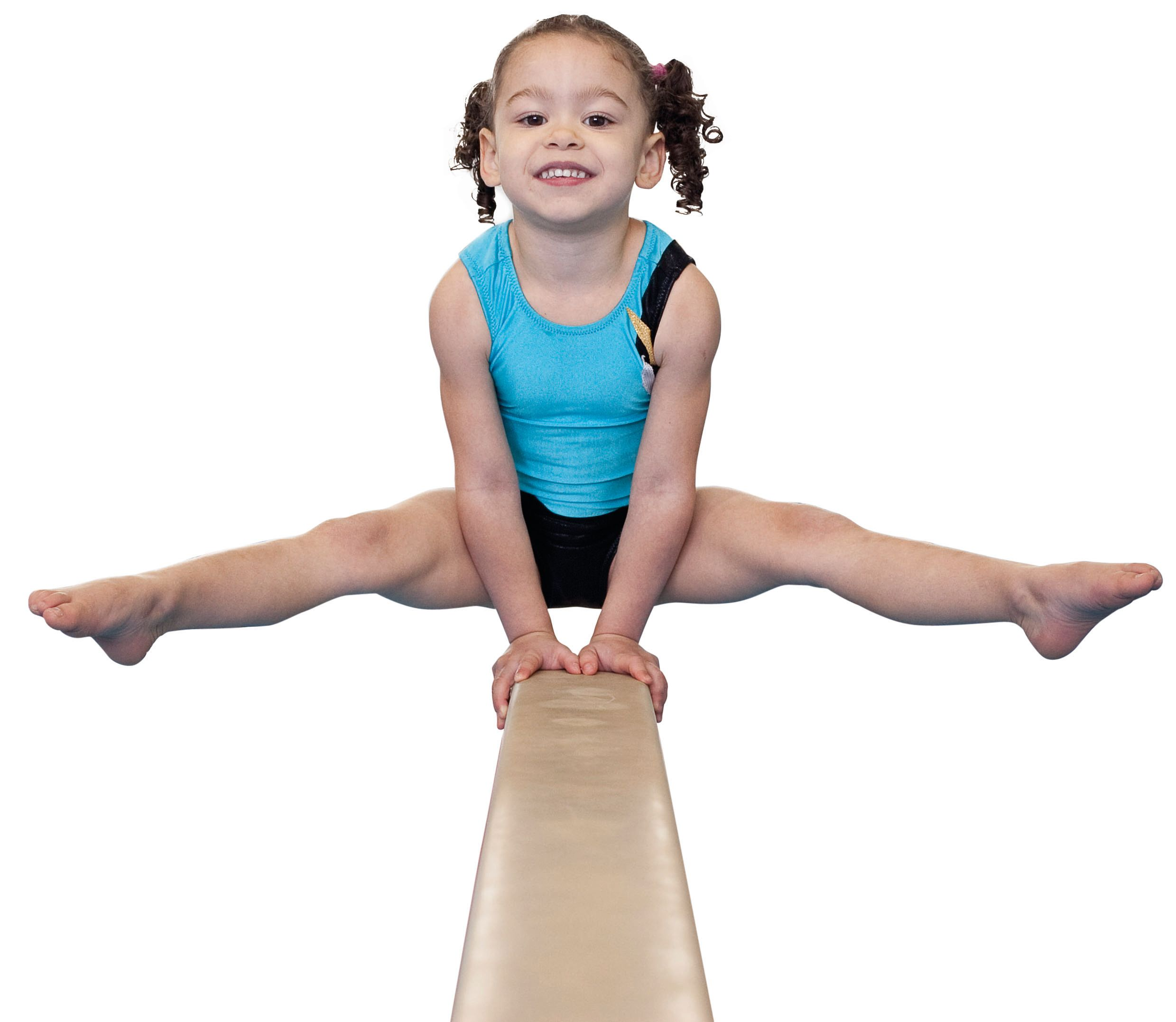 Junior female balance beam crop
