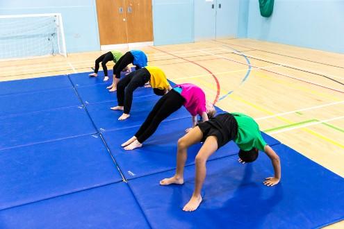 Gymnastics backflp  1
