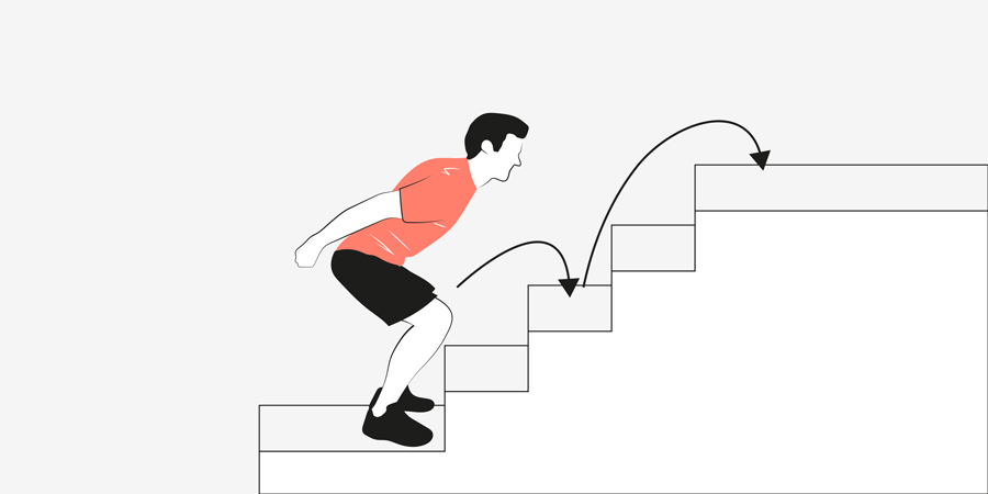 Stair jumps
