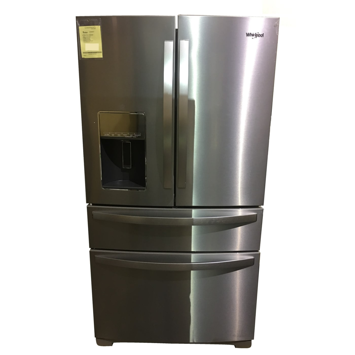 Fingerprint Resistant Stainless Steel French Door Refrigerator  Scratch &