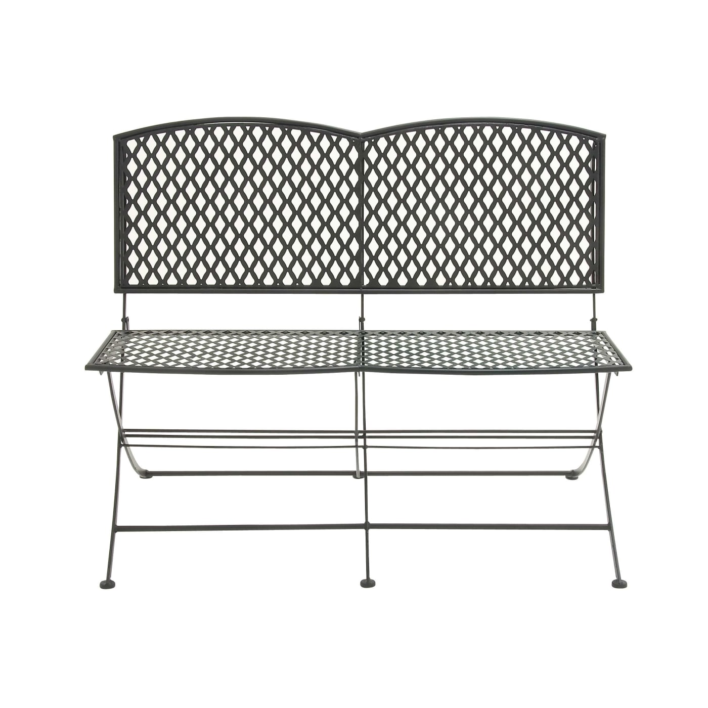 Dec Mode Collection Great Outdoors Metal Folding Bench 42