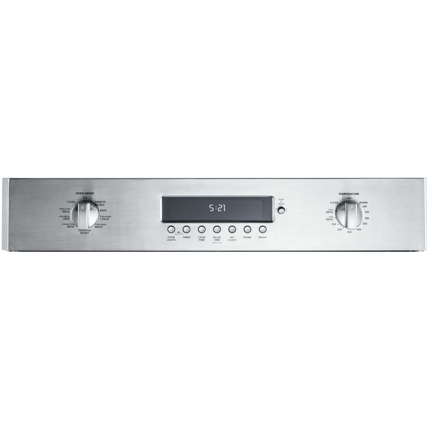 Ge Monogram Zet1fhss 30 Quot Stainless Steel Electric French