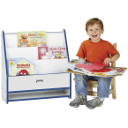 Jonti-Craft Rainbow Accents Green Toddler Pick-a-Book Stand
