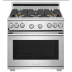 "Electrolux Icon Professional 36"" Stainless Steel Gas Sealed Burner Range - Convection"