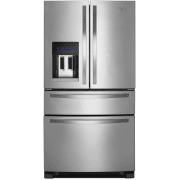 "Whirlpool 36"" French Door Refrigerator w/ External Drawer"