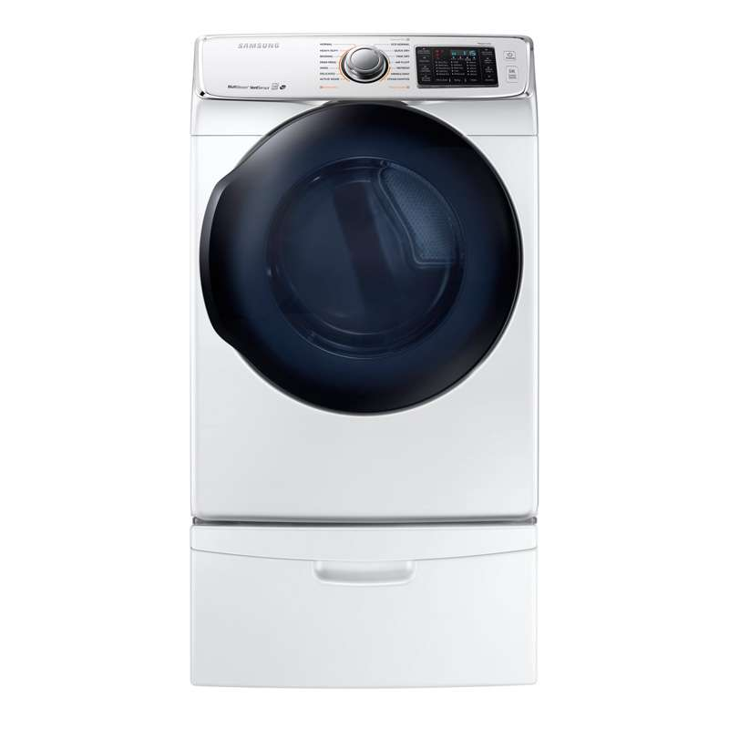 7.5 Cu. Ft. White Electric Dryer - Energy Star