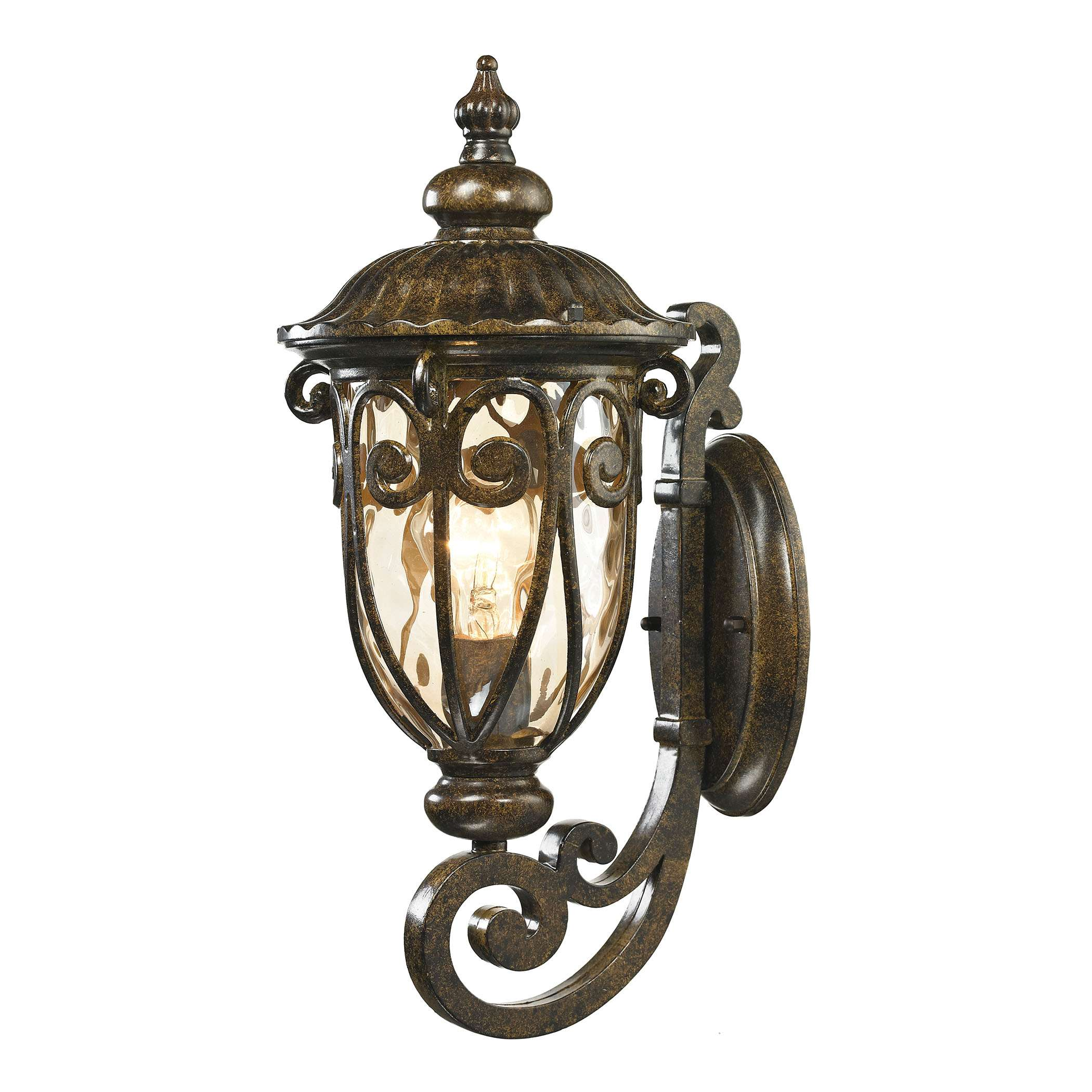 Logansport 1 Light Outdoor Sconce In Hazelnut Bronze