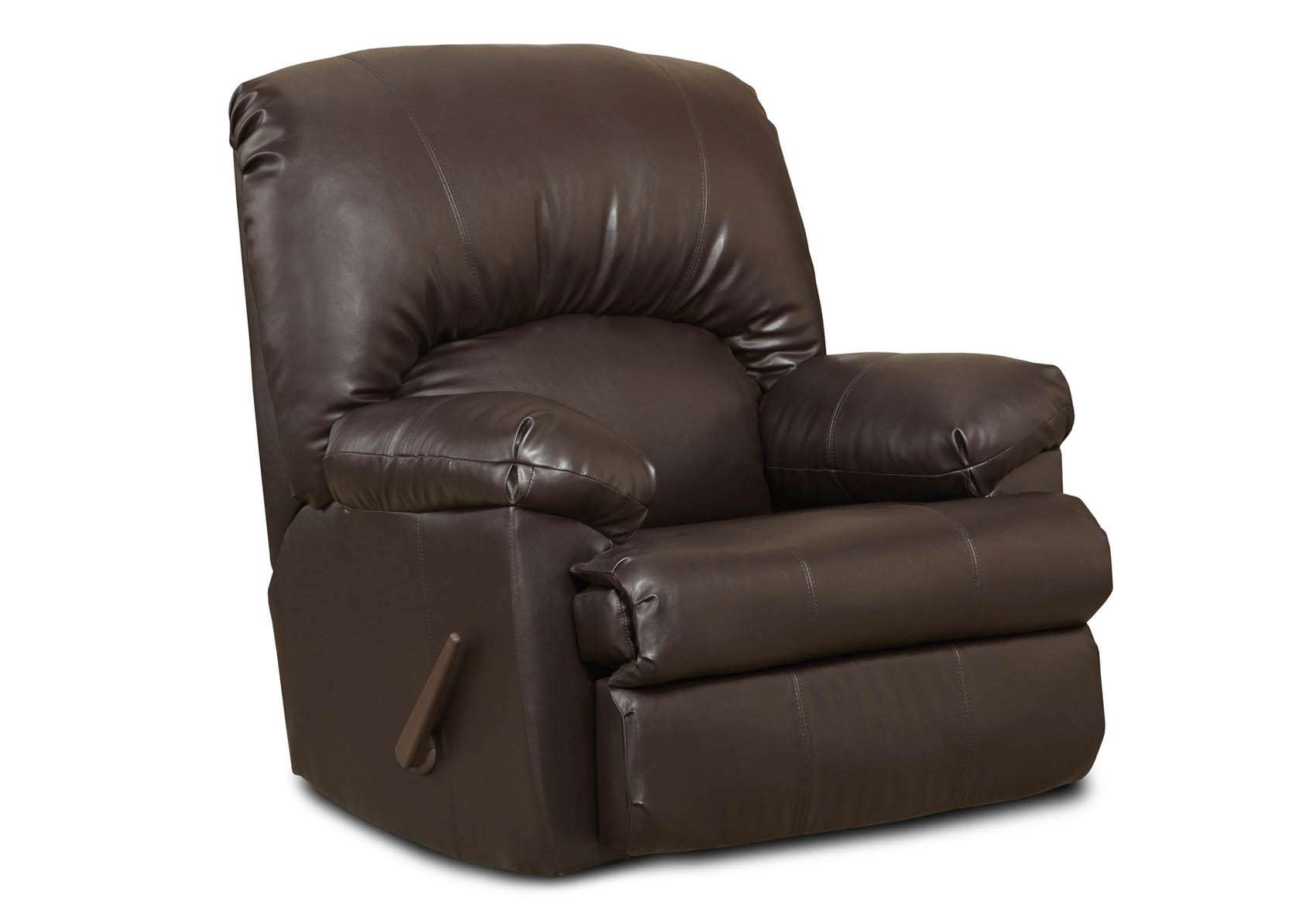 Charles Brown Rocker Recliner